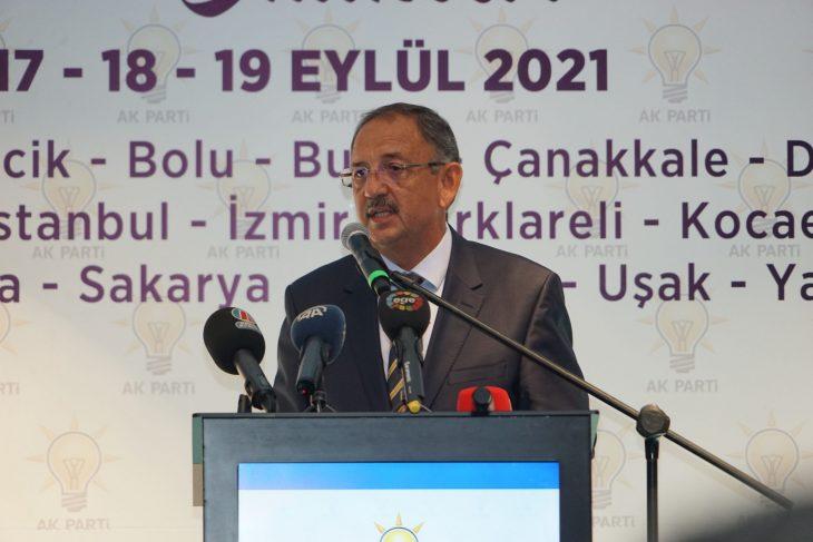 AK Parti Genel Başkan Yardımcısı Özhaseki, AK Parti Yerel Yönetimler Bölge Toplantısı'nda konuştu