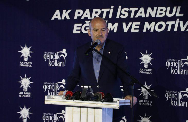 İçişleri Bakanı Süleyman Soylu, Keşan'da konuştu