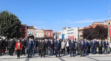 Edirne'de Gaziler Günü nedeniyle tören düzenlendi