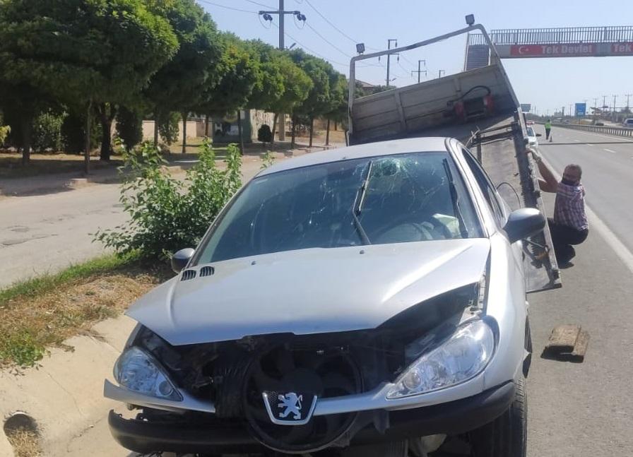Keşan'daki trafik kazasında 1 kişi yaralandı