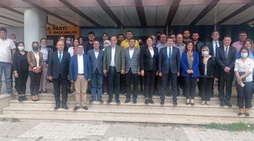 AK Parti Genel Başkan Yardımcısı Dağ partisinin Edirne İl Başkanlığını ziyaret etti