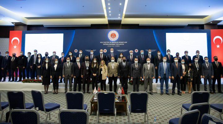 Adalet Bakanı Abdulhamit Gül, Mağdur Odaklı Adalet Buluşmaları toplantısında konuştu