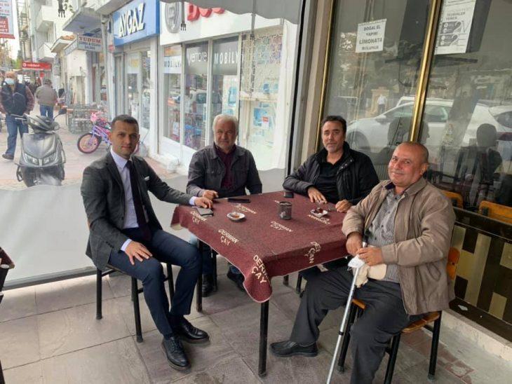 Enez Kaymakamı'ndan Esnaf ziyaret