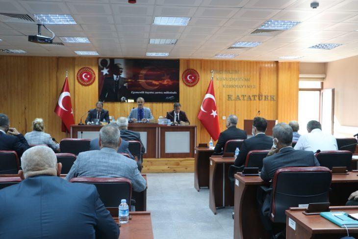 Edirne İl Genel Meclisi toplandı