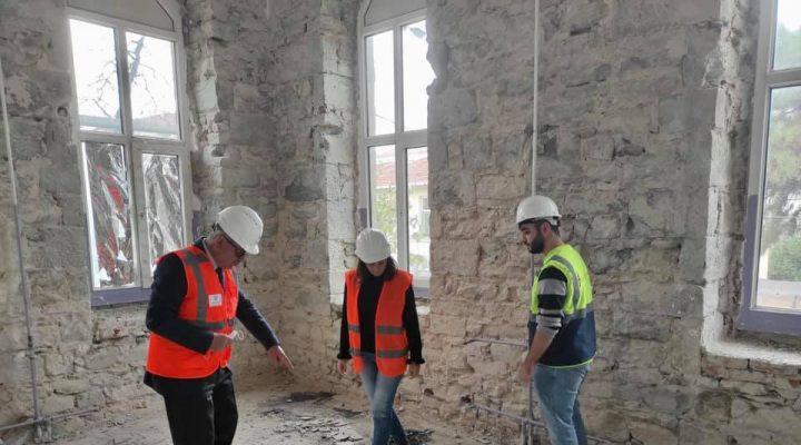 Keşan Kent Müzesi'nde Restorasyon çalışmaları başladı