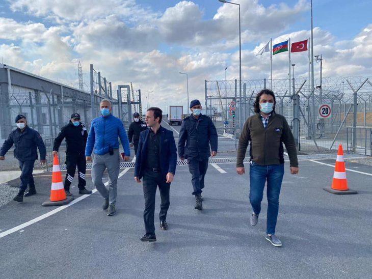 Ekrem Güngör'den TANAP Ölçüm İstasyonu'na ziyaret