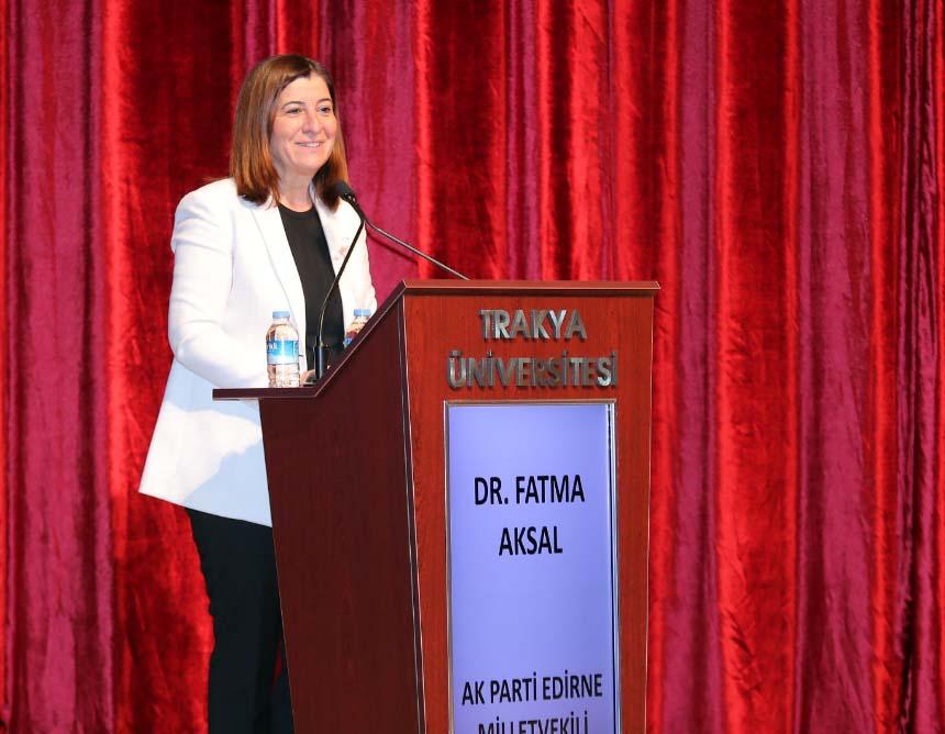 KEFEK Başkanı Aksal, kadınsız hedeflere ulaşılamayacağını belirtti