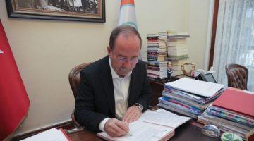 EdirneBelediye Başkanı Gürkan, sera gazı emisyonlarını azaltmayı taahhüt eden sözleşmeyi imzaladı