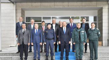 EdirneValisi Canalp, Kapıkule Sınır Kapısında Bulgar yetkililerle görüştü