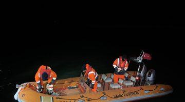 Tekirdağ'da alabora olan bottan denize düşen 2 kişiden biri öldü, biri kayboldu