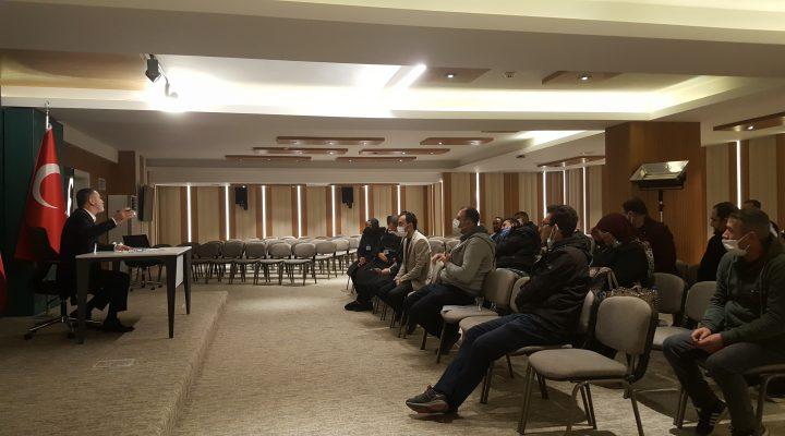 'Evim'' mağdurları sıkıntılarını Gelecek Partisinde dile getirdiler.