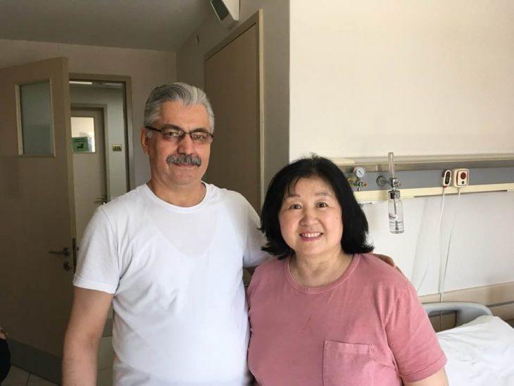 İstanbul'da tatilde iken rahatsızlanan Güney Koreli bayan şifayı Özel Keşan Hastanesi'nde buldu