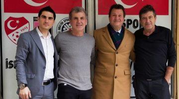 İstanbul Gençlergücü Spor Camiasına Duayen Hocalardan Ziyaret