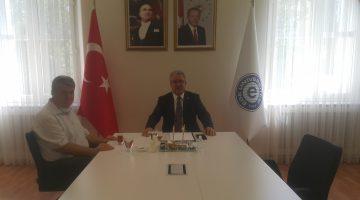 Budak,  kendisini ziyaret eden Erdoğan Demir aracılığı ile Keşanlı hemşehrilerine selamlarını iletti