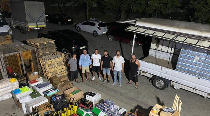 Keşan'dan Marmaris Yangını Mağdurlarına yardım kampanyası
