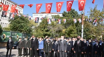 19 Eylül Gaziler Günü Keşan'da kutlandı