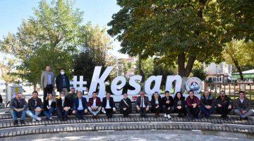 Helvacıoğlu, 21 Ekim Dünya Gazeteciler Günü'nde Keşanlı Gazetecilerle buluştu