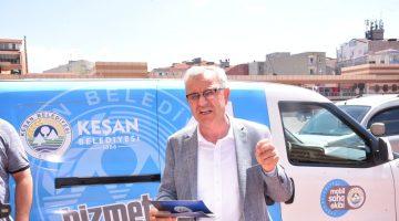 Keşan Belediyesi yeni bir projeye daha imza attı.