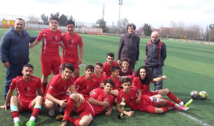 Anafartalarspor U19'da iL 3.sü Oldu