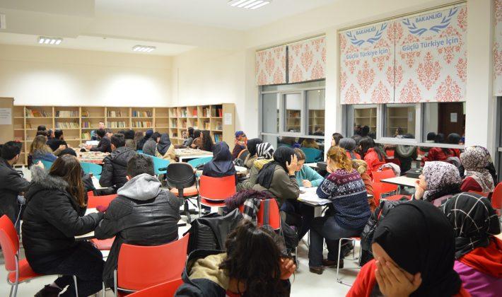 Keşan Gençlik Merkezi Okur-Yazar Buluşması
