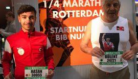 Hasan Tek ve Bülent Türker Rotterdam Maratonu'nda ter dökecek