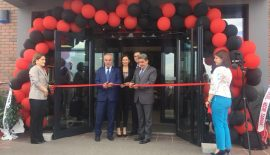 Tarhan Yapı'nın yeni yönetim binası açıldı