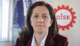DİSK'e Kadın Başkan. Dr.Arzu Çerkezoğlu