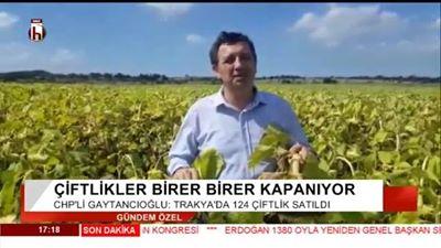 """Gaytancıoğlu """"Trakya'da 124 Çiftlik Satılık"""""""