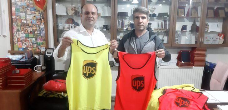 UPS Keşan Kargo'dan Keşan Master ve Veteranlar Takımı'na destek