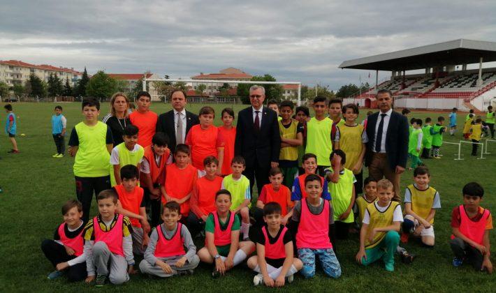 Keşan Belediyesi Yaz Futbol Okulu Kursu Başladı