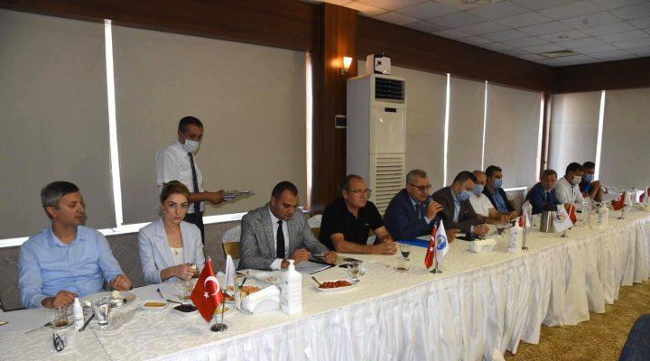 Mustafa Helvacıoğlu Müteahhitler ve İnşaat Sektörü Temsilcileri İle Bir Araya Geldi
