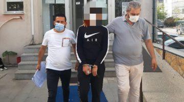 Aranan kişi yakalanarak tutuklandı
