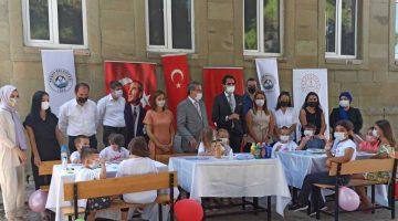 """Edirne İl Milli Eğitim Müdürü Önder Arpacı, Müze Keşan bahçesinde düzenlenen """"müzede eğitim"""" etkinliğine katıldı"""