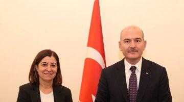 Aksal'dan İçişleri Bakanı Süleyman Soylu'ya ziyaret