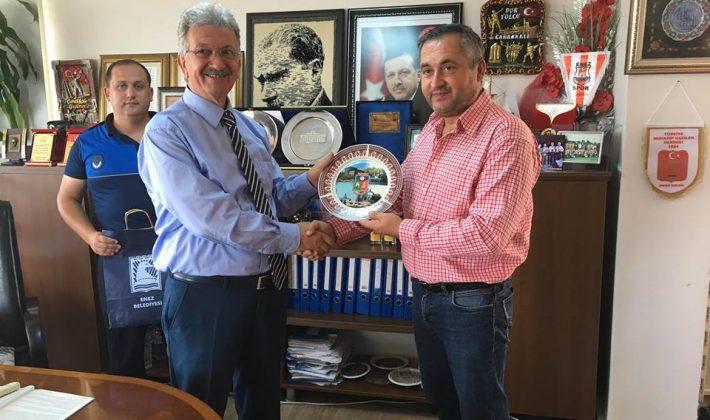 Kıpçak Belediye Başkanı Enez'i ziyaret etti
