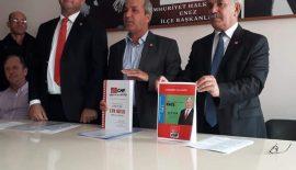 Enez'de CHP'den Ümit Kurt ve Halit Çelik'de Belediye Başkan Aday Adayı