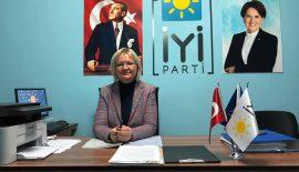 Enez İYİ Parti İlçe Başkanlığına Av. Emine Tüzün getirildi