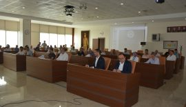 Belediye Meclisi toplantısı gerçekleştirildi