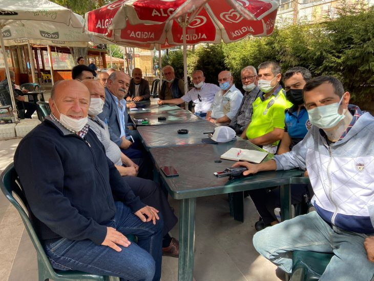 Keşan Polisinden Mahalle Muhtarları ile toplantı