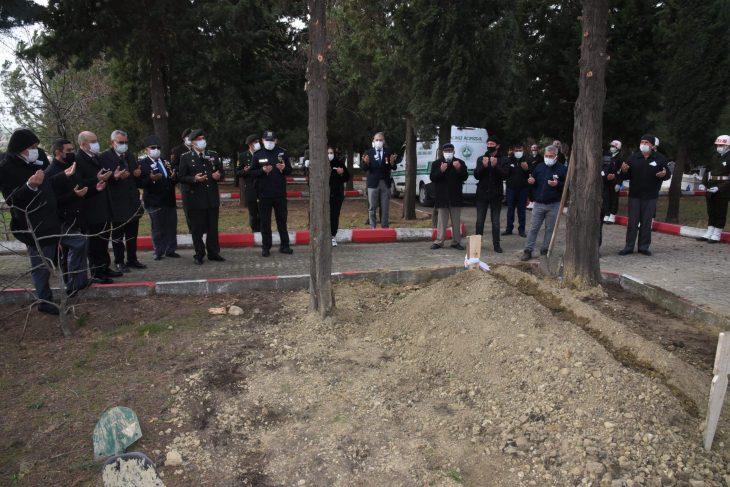 Asri Mezarlık'taki Şehitlik'te gaziler için Gaziler Mezarlığı oluşturuldu