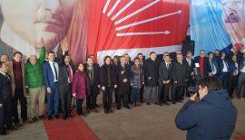 CHP Beyendik Belediye Başkan Adayı Muhammet Örnek ve Belediye Meclis Üyeleri Tanıtıldı