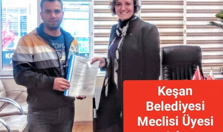 Hasret Dinç CHP'den Belediye Meclis Üyesi Aday Adaylığı İçin Başvuruda Bulundu.