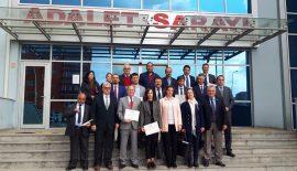 CHP'li Belediye Meclis Üyeleri mazbatalarını aldılar.