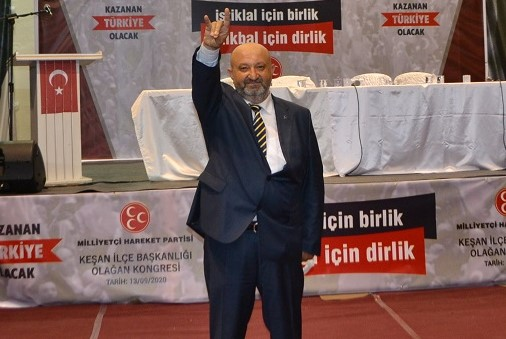 """MHP Keşan İlçe Başkanı Adnan İnan: """"Can Azerbaycan'ın her zaman yanındayız"""""""
