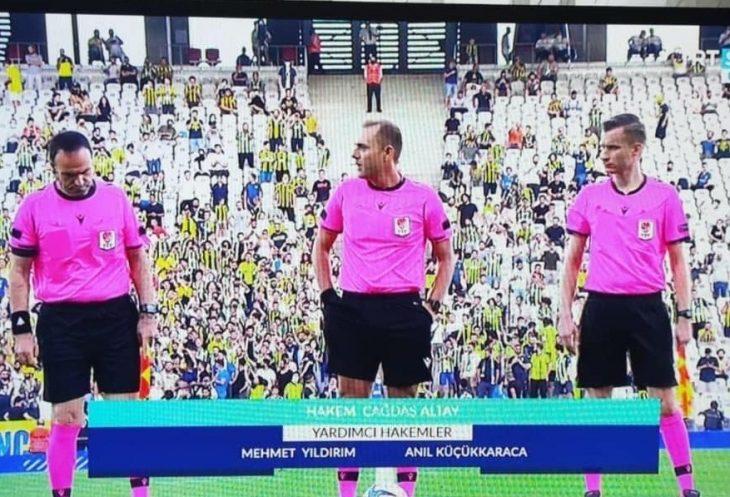 Keşanlı hakem Anıl Küçükkaraca Fenerbahçe-Dinamo Kiev hazırlık maçında görev aldı
