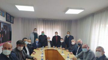 AK Parti Keşan İlçe Yönetimi'nden esnaf odalarına ziyaret