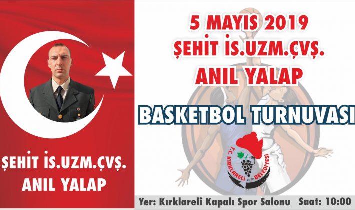 Kırklareli Belediye Başkanlığı'ndan Anlamlı Basketbol Turnuvası