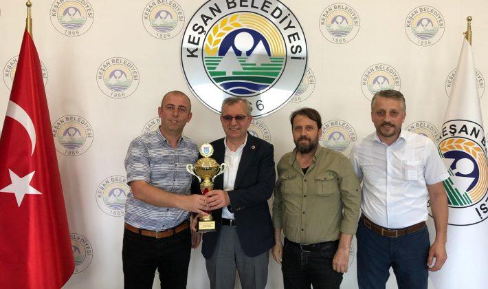 Keşan İdmanyurdu'ndan Mustafa Helvacıoğlu'na Ziyaret…