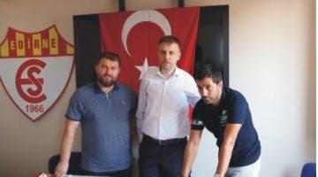 Edirnespor Sportif Direktör Olarak Murat Baytaroğlu ile anlaştı