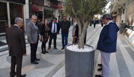 Belediye Başkanı Helvacıoğlu Artı Çarşı esnafıyla buluştu
